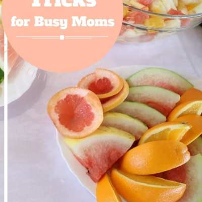 Clean Eating Tricks for Busy Moms