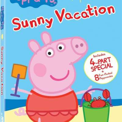 Peppa Pig takes us on a Sunny Vacation DVD