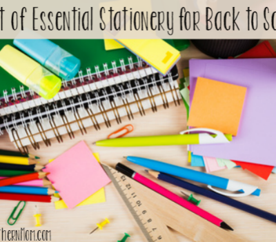 A List of Essential Stationery for Back to School