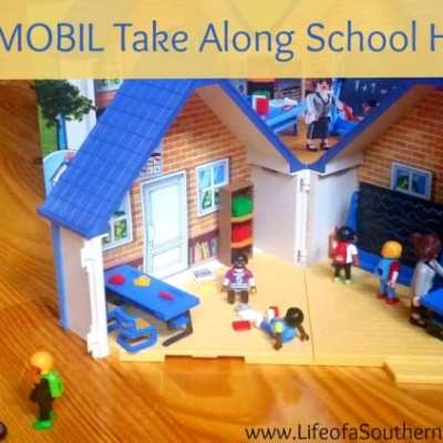 PLAYMOBIL Take Along School House and Bus Set Review