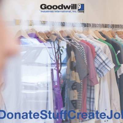 Donate and Shop at Goodwill #DonateStuffCreateJobs