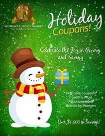 Save Big on Shopping with the Women's Choice Award Holiday Coupon Book