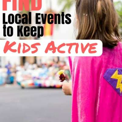 Find Local Events to Keep Kids Active