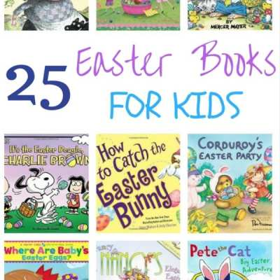 25 Easter Books for Kids Round Up
