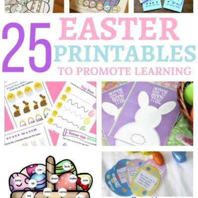 25 Easter Printables to Promote Learning