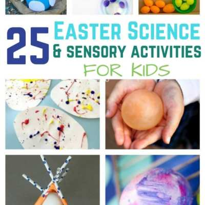 25 Easter Science and Sensory Activities for Kids