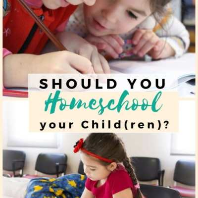 Should You Homeschool Your Child(ren)