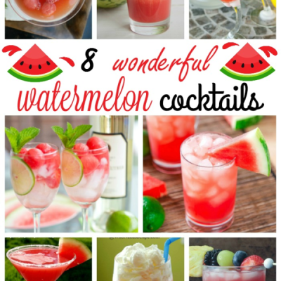 8 Wonderful Watermelon Cocktails