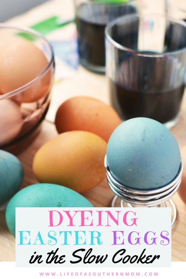 How to Dye Easter Eggs in the Slow Cooker
