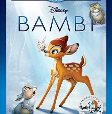 Celebrate Disney's Bambi 75th Anniversary Edition – June 6th on Blu-Ray & DVD