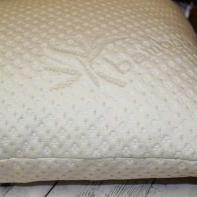Luxurious Bamboo Pillow From Snuggle-Pedic – Sleep Easy