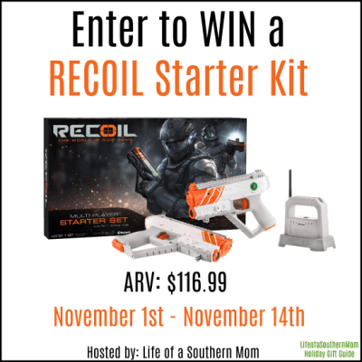 Get Ready for Battle with The RECOIL Starter System + Giveaway!