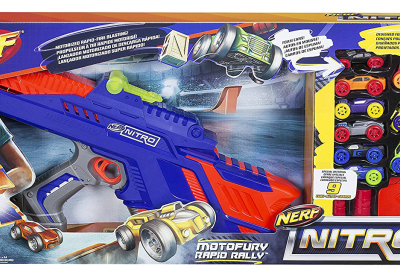 How High Can You Fly with the Nerf Nitro Moto Fury Rapid Rally