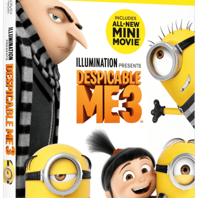 DESPICABLE ME 3 on Blu-ray™,DVD and On Demand