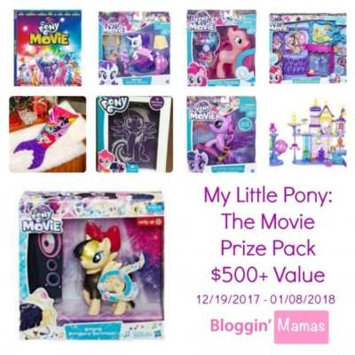 My Little Pony: The Movie $500 Prize Pack Giveaway – Expired