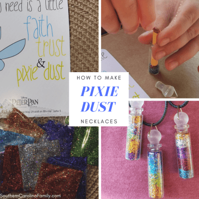 Travel to the Never Land with Peter Pan + DIY Pixie Dust Necklace
