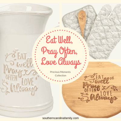 Eat Well, Pray Often, Love Always Precious Moments Collection
