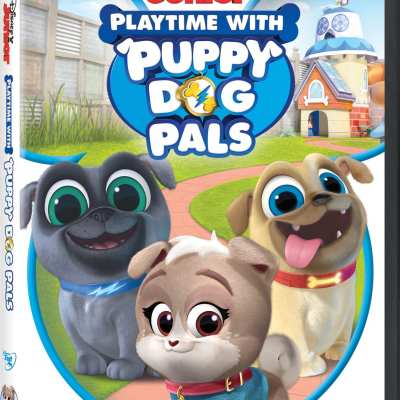 Playtime With Puppy Dog Pals DVD!