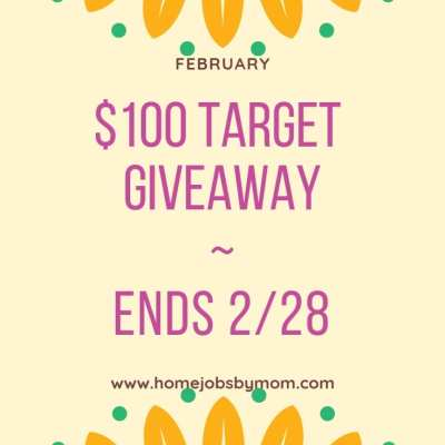 Win a $100 Target Gift Card! Ends 2/28