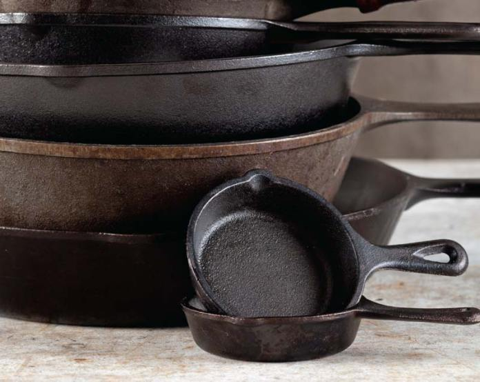 castiron cleaning