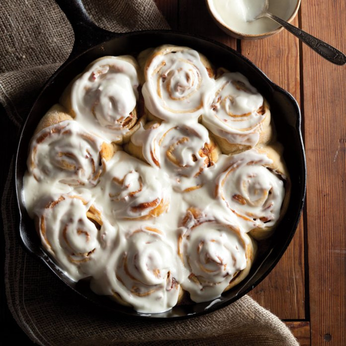 Apple Butter Cinnamon Rolls