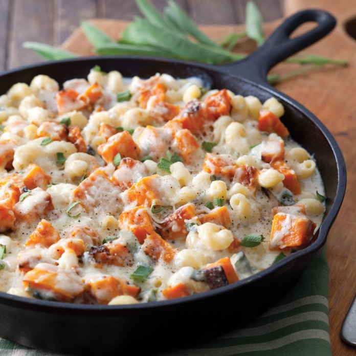 Macaroni and Cheese with Butternut Squash and Sage