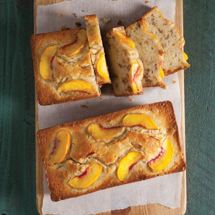 Peach-Pecan Quick Bread