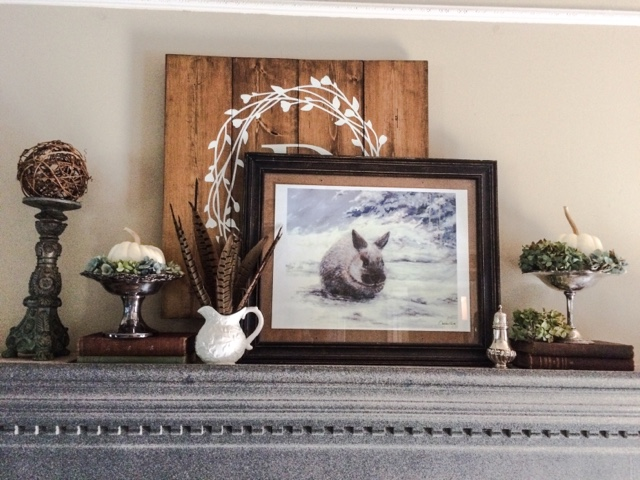 A Fall Mantle And A Prayer