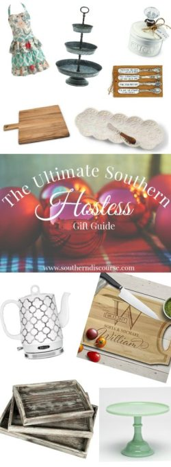 12 fabulous Christmas gift ideas for that southern hostess in your life. | A Christmas gift guide to warm your home.
