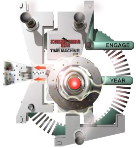 time machine graphic