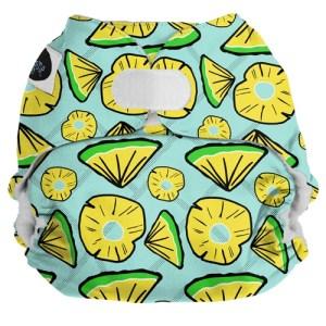 Imagine Pocket Diaper-Hook and Loop-Pineapple Pop