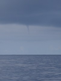 waterspout during our storm