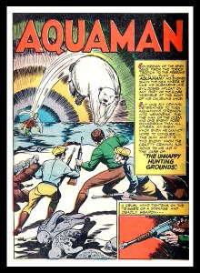 Aquaman. DC Comics.