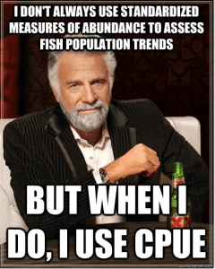He is... the most interesting fisheries biologist in the world