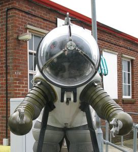 JIM suit. Photo from Geni via Wikipedia.