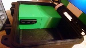 USB Hub in case.