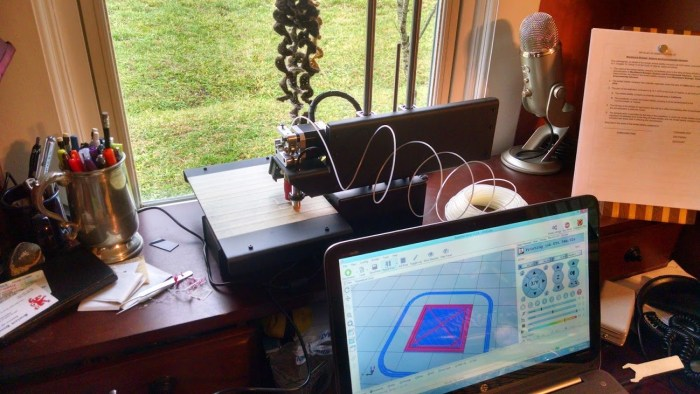 A Printrbot in the home.