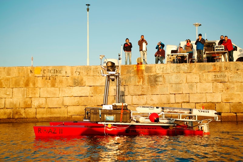 The PISCES team in Portugal gets ready for testing