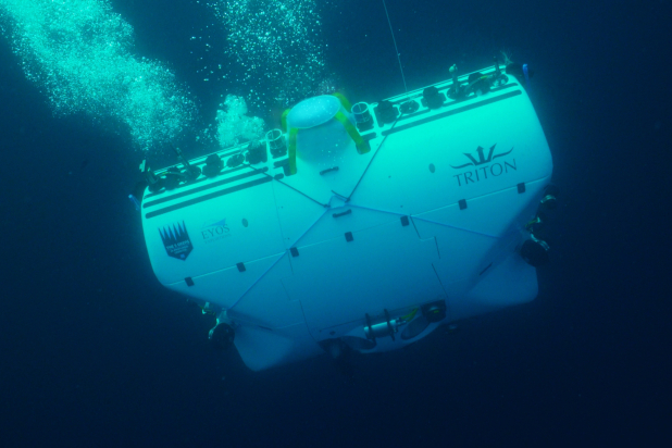 Submersible. Photo courtesy Discovery.