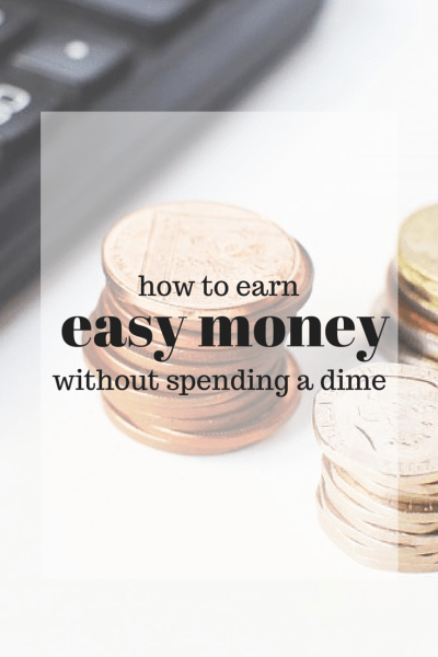 Super easy ways to save money!