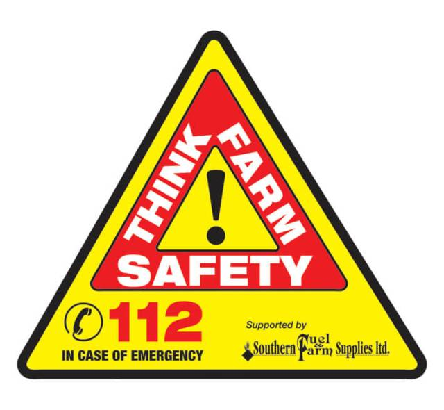 Think Farm Safety sign
