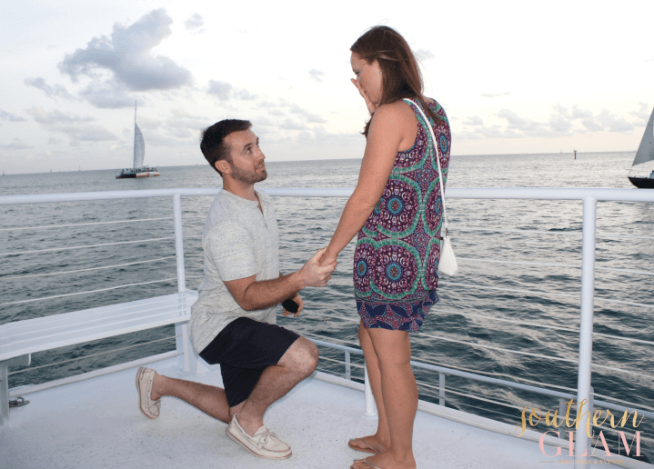 Key West wedding proposal
