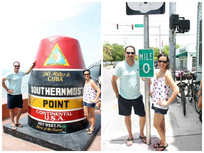 Southernmost Point and Mile 0 in Key West Florida Southern Glam Meagan Phillips