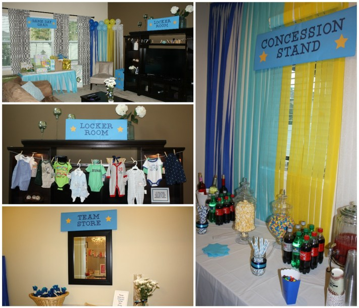 Tampa Bay Rays baseball baby shower | Southern Glam Weddings & Events | Tampa Event Planner | Meagan Phillips