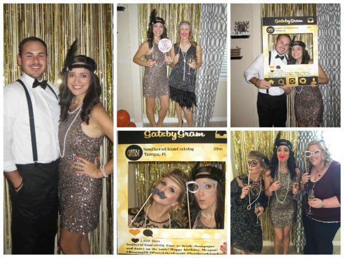 Southern Glam Weddings & Events, Roaring 29 Southern Glam Gatsby birthday
