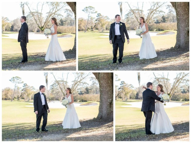 Southern Glam Winter Country Club Wedding in Valdosta