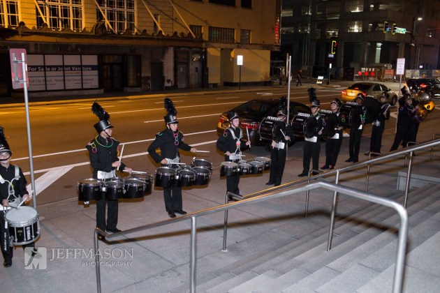 Drumline at Downtown Tampa Museum Wedding at Glazer Children's Museum | Jeff Mason Photography | Southern Glam Weddings & Events