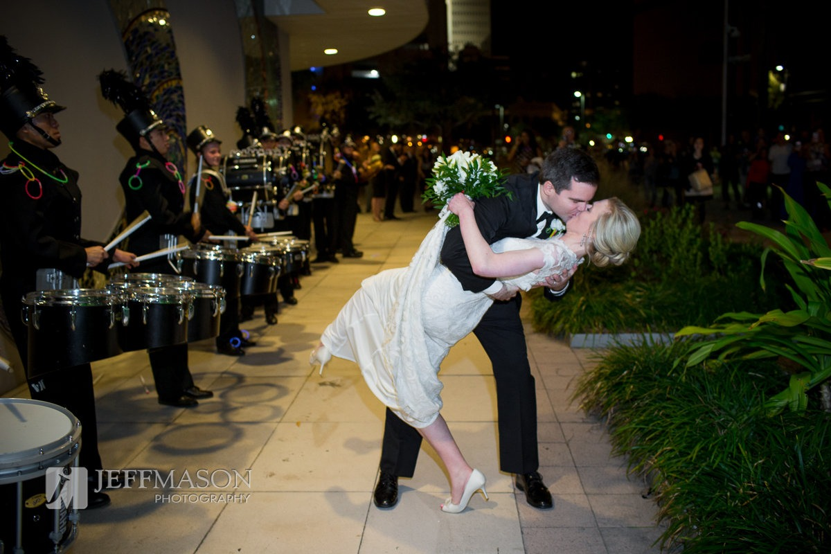 Downtown Tampa Museum Wedding at Glazer Children's Museum | Jeff Mason Photography | Southern Glam Weddings & Events