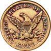 1861-D $5 Obverse