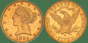1894-O Half Eagle